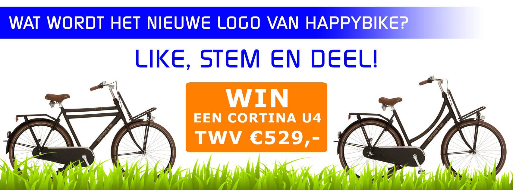 Like, stem en deel!